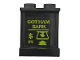 "Part No: 87552pb051  Name: Panel 1 x 2 x 2 with Side Supports - Hollow Studs with ATM and ""GOTHAM BANK"" Pattern (Sticker) - Set 70921"