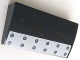 Part No: 88930pb080  Name: Slope, Curved 2 x 4 x 2/3 No Studs with Bottom Tubes with Light Bluish Gray Panel with 12 Rivets Pattern (Sticker) - Set 79116