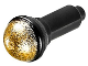 Part No: 90370pb03  Name: Minifigure, Utensil Microphone with Metallic Gold Top Half Screen Pattern