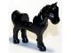 Part No: 93083c01pb11  Name: Horse with 2 x 2 Cutout, Dark Bluish Gray Eyes and Dark Bluish Gray Outline around Eyes Pattern