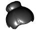 Part No: 93217  Name: Minifig, Hair with Top Knot Bun