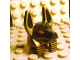 Part No: 93248pb01  Name: Minifig, Head Modified Anubis Guard Head with Gold Print and Red Eyes Pattern