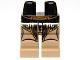 Part No: 970c69pb03  Name: Hips and Dark Tan Legs with SW Golden Belt Geonosian Pattern