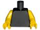 Part No: 973c11  Name: Torso Plain / Yellow Arms / Yellow Hands
