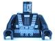 Part No: 973p52c01  Name: Torso Space Blacktron I Pattern / Black Arms / Black Hands