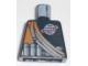 Part No: 973pb0052  Name: Torso Alpha Team Logo, Orange Stripe, Shoulder Ropes Pattern