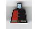 Part No: 973pb0107  Name: Torso Alpha Team Minion Red/Black Shirt Pattern