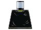 Part No: 973pb0268  Name: Torso Harry Potter Small Gray Collar and Belt, Gray Ripples Pattern