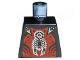 Part No: 973pb0347  Name: Torso Castle Knights Kingdom II with Scorpion Pattern
