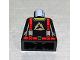 Part No: 973pb0349  Name: Torso Alpha Team Arctic Logo, Black Shirt and Red Straps Pattern