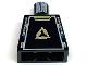 Part No: 973pb0425  Name: Torso Alpha Team Arctic Logo, Zippers and Blue Tabs Pattern