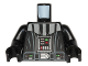 Part No: 973pb1804c01  Name: Torso SW Darth Vader Imperial Star Destroyer Pattern / Black Arms / Black Hands