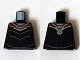 Part No: 973pb1840  Name: Torso Armor Silver and Red with Blue Muscles Pattern (Black Manta)