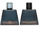 Part No: 973pb3090  Name: Torso Female Dark Blue Stripes with Belt Pattern (SW Barriss Offee)