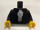 Part No: 973pb3364c01  Name: Torso SW VIP Minifigure Millennium Falcon Pattern / Black Arms / Yellow Hands
