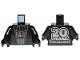 Part No: 973pb3492c01  Name: Torso SW Darth Vader with '20 YEARS LEGO STAR WARS' on Back Pattern / Black Arms / Black Hands