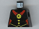 Part No: 973px35  Name: Torso Castle Fright Knights Red Spider Medal Pattern