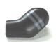 Part No: 981pb022  Name: Arm, Left with 2 Dark Bluish Gray Stripes Pattern