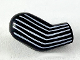 Part No: 982pb212  Name: Arm, Right with 6 White Stripes Pattern