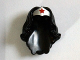 Part No: 98725pb02  Name: Minifigure, Hair Female Long Wavy with Silver Tiara and Red Star Pattern (Wonder Woman)