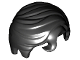 Part No: 98726  Name: Minifig, Hair Swept Right with Front Curl