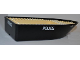Part No: bfloat2c01pb02  Name: Boat Hull Unitary 25 x 10 x 4 1/3 with 4010 and Police Pattern (Stickers) - Set 4010