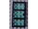 Part No: x39c01  Name: Door 1 x 4 x 6 with 3 Panes with Trans-Light Blue Glass