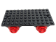 Part No: x487  Name: Train Base 6 x 12 with Wheels