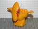 Part No: 31057pb02  Name: Duplo Dinosaur Pteranodon Adult with Orange Spots around Eyes Pattern