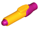 Part No: 35809pb02  Name: Minifig, Utensil Pen with Magenta Tip and Cap Pattern