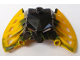 Part No: 57532pb01  Name: Bionicle Mask Garai with Black Face
