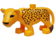 Part No: 8435pb01  Name: Duplo Leopard Adult New Style