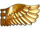 Part No: 20312  Name: Wing 4 x 7 Right with Feathers and Handles for Clips