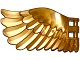 Part No: 20313  Name: Wing 4 x 7 Left with Feathers and Handles for Clips