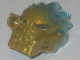 Part No: 24150pb02  Name: Bionicle Mask of Ice (Unity) with Marbled Trans-Light Blue Pattern