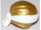 Part No: 24496pb17  Name: Minifigure, Headgear Ninjago Wrap Type 3 with White Bandana and Knot Pattern