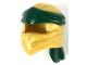 Part No: 40925pb01  Name: Minifigure, Headgear Ninjago Wrap Type 4 with Dark Green Headband Pattern