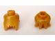 Part No: 90322  Name: Minifigure, Head Modified Jagged Bottom Edge