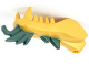 Part No: 93072pb05  Name: Dragon Head (Ninjago) Lower Jaw with Dark Green Spines Pattern