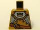 Part No: 973pb0569  Name: Torso Castle Fantasy Era Gold Knight Pattern