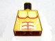 Part No: 973pb0757  Name: Torso Atlantis Armor with Gold Plated Muscles Outline Pattern