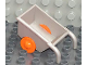 Part No: 2292c03  Name: Duplo Wheelbarrow with Orange Wheels