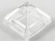 Part No: 22388  Name: Slope 45 1 x 1 x 2/3 Quadruple Convex Pyramid