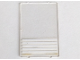 Part No: 2494p01  Name: Glass for Window 1 x 4 x 5 with 5 White Stripes Pattern (Sticker)