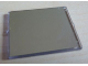 Part No: 3855pb020  Name: Glass for Window 1 x 4 x 3 with Mirror Pattern (Sticker) - Set 5810