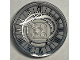 Part No: 44375bpb11  Name: Dish 6 x 6 Inverted (Radar) - Solid Studs with Asymmetrical Clock Face Pattern