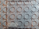 Part No: 4448pb08  Name: Glass for Window 4 x 4 x 3 Roof with VELUX Logo Pattern - Set 6374-2