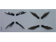 Part No: 4661484  Name: Plastic Wings Double with SW Geonosian Pattern, Sheet of 2, Different Double Wings