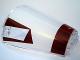 Part No: 47543pb03  Name: Cone Half 8 x 4 x 6 with Dark Red Stripe Tantive Bridge Top Pattern