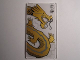 Part No: 57895pb008  Name: Glass for Window 1 x 4 x 6 with Dragon Head Pattern